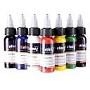 baratos Kits de Tatuagem para Iniciantes-7 × 30 ml Clássico Diário Alta qualidade