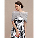 cheap Wedding Wraps-Faux Fur Wedding / Party / Evening Women's Wrap With Buttons Capelets
