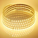 cheap LED Strip Lights-10m 600 LEDs Warm White / White / Blue Waterproof 220 V / 5050 SMD / IP65