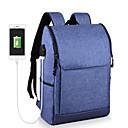 preiswerte Laptoptaschen-Unisex Taschen Oxford Tuch Laptop Tasche Reißverschluss Blau / Schwarz / Grau