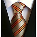 baratos Acessórios Masculinos-Homens Trabalho Básico Gravata Listrado