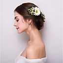 cheap Necklaces-Fabric / Alloy Flowers / Hair Clip with 1 Wedding / Party / Evening Headpiece
