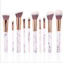 baratos Conjuntos de Pincéis de Maquiagem-10pçs Profissional Pincéis de maquiagem Conjuntos de pincel Pêlo Sintético Batom / Sobrancelha / Sombra de olho