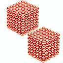 cheap Magnet Toys-432 pcs 3mm Magnet Toy Magnetic Balls / Building Blocks / Puzzle Cube Metalic Contemporary / Classic & Timeless / Chic & Modern Stress and Anxiety Relief / Office Desk Toys / Relieves ADD, ADHD