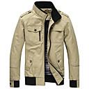 ieftine Părți Motociclete & ATV-Bărbați Stand Mărime Plus Size Jachetă Mată Bumbac