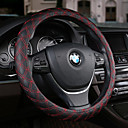 cheap Steering Wheel Covers-Steering Wheel Covers Leather 38cm Black / Beige / Coffee For universal All years