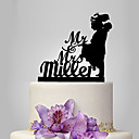 cheap Cake Toppers-Cake Topper Classic Theme / Romance / Wedding Classic Couple Plastic Wedding with 1 pcs Poly Bag