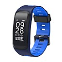cheap Smartwatches-Smart Bracelet Smartwatch for iOS / Android Heart Rate Monitor / Blood Pressure Measurement / Calories Burned / Long Standby / Touch Screen Stopwatch / Pedometer / Call Reminder / Sleep Tracker
