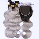 cheap Micro Ring Hair Extension-Malaysian Hair Body Wave Human Hair Hair Weft with Closure Human Hair Weaves Human Hair Extensions