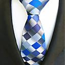 זול ברזים למקלחת-עניבת צווארון - פסים, פוליאסטר פסים בגדי ריקוד גברים