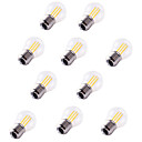 cheap LED Filament Bulbs-10pcs 4W 360lm E26 / E27 LED Filament Bulbs G45 4 LED Beads COB Decorative Warm White Cold White 220-240V