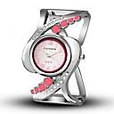 preiswerte Armband-Uhren-Damen Armbanduhr Quartz Armbanduhren für den Alltag Legierung Band Analog-Digital Freizeit Armreif Modisch Schwarz / Weiß / Blau - Rot Blau Rosa Ein Jahr Batterielebensdauer / TY 377A