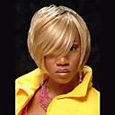 cheap Human Hair Capless Wigs-Human Hair Capless Wigs Human Hair Straight Side Part Medium Machine Made Wig Women's