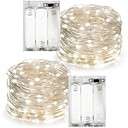 cheap LED String Lights-7m String Lights 100 LEDs Warm White / RGB / White Waterproof Battery / IP65