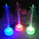 cheap Holiday Party Decorations-LED Battery Power lamp 7 Colour changing Night Light Desk Table Top Christmas Tree Decoration Festive Party