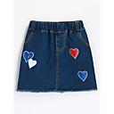 זול חצאיות לבנות-חצאית כותנה דפוס בנות פעוטות