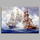 cheap Prints-Oil Painting Hand Painted - Famous Artistic Classic Classic & Timeless Canvas
