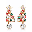 cheap Religious Jewelry-Women's Stud Earrings - Rhinestone Fashion Rainbow For Christmas New Year