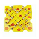 baratos Jogos de xadrez-Brinquedos de Natal Xadrez Halma Porco Mouse Animal Animais Design de Desenho-Animado Adorável Moda Novo Design Plástico Suave Para