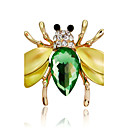cheap Synthetic Capless Wigs-Women's Synthetic Diamond Brooches - Rhinestone Animal Brooch Rainbow For Party / Stage