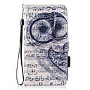 cheap Cell Phone Cases & Screen Protectors-Case For Huawei P10 Lite Card Holder Wallet with Stand Flip Magnetic Pattern Full Body Cases Owl Hard PU Leather for P10 Lite P8 Lite