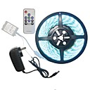 cheap LED Strip Lights-SENCART 5m Light Sets 300 LEDs RGB Remote Control / RC / Cuttable / Dimmable 100-240V 1set / 5050 SMD / Linkable / Self-adhesive