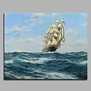cheap Prints-Oil Painting Hand Painted - Famous Artistic Classic Style Classic Canvas