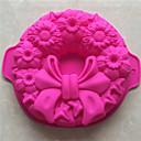cheap Bakeware-Bakeware tools Silica Gel Christmas / Baking Tool / DIY Cooking Utensils / Bread / Chocolate Cake Molds 1pc