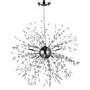 Недорогие Подвесные лампы-8-Light Спутник Подвесные лампы Рассеянное освещение Электропокрытие Металл LED 110-120Вольт / 220-240Вольт Желтый Лампочки включены / G4