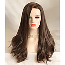 cheap Synthetic Lace Wigs-Synthetic Lace Front Wig Wavy Synthetic Hair Brown Wig Women's Long Lace Front Brown