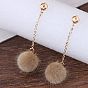 cheap Mascaras-Women's Drop Earrings - Ball Fashion Brown / Red / Taupe For Daily / Casual