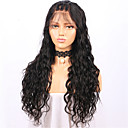 cheap Synthetic Capless Wigs-Human Hair Lace Front Wig Brazilian Hair Loose Wave Wig Layered Haircut 130% Natural Hairline / For Black Women / 100% Virgin Women's Short / Medium Length / Long Human Hair Lace Wig