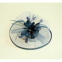 cheap Party Headpieces-Flax / Feather Fascinators / Hats with 1 Wedding / Special Occasion Headpiece