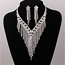 cheap Pins and Brooches-Women's Jewelry Set - Silver Plated Include Silver For Wedding Party