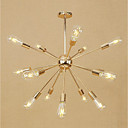 cheap Chandeliers-Sputnik Chandelier Ambient Light - Mini Style, Adjustable, Designers, 110-120V / 220-240V Bulb Not Included / 15-20㎡ / E26 / E27