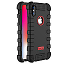 cheap Cell Phone Cases & Screen Protectors-HOCO Case For Apple / iPhone X iPhone X Dustproof Full Body Cases Solid Colored Soft Silicone for iPhone X