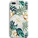 cheap Cell Phone Cases & Screen Protectors-Case For Apple iPhone X iPhone 8 Ultra-thin Transparent Pattern Back Cover Flower Tree Soft TPU for iPhone 8 Plus iPhone 8 iPhone SE/5s