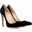 hesapli Kadın Topukluları-Kadın's Ayakkabı Nubuk deri / PU Bahar / Sonbahar Temel Topuklu Topuklular Stiletto Topuk için Kırmzı / Yeşil / Mavi
