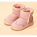 preiswerte Baby-Schuhe-Mädchen Schuhe Leder Winter Schneestiefel / Flaum Futter Stiefel für Fuchsia / Rosa / Kamel