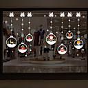 abordables Textiles para el Hogar Navideño-Ventana de película y pegatinas Decoración Navidad Art Decó PVC / Vinilo Adhesivo para Ventana / Salón