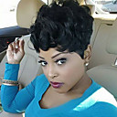 cheap Human Hair Capless Wigs-Human Hair Curly / Jerry Curl Hot Sale Short Machine Made Wig Women's