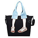 cheap Totes-Women's Bags Canvas Tote Pattern / Print Blue / Black / Army Green