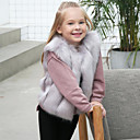 cheap Kigurumi Pajamas-Faux Fur Wedding / Party / Evening Kids' Wraps With Vests