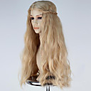 cheap Costume Wigs-Synthetic Wig / Cosplay & Costume Wigs Synthetic Hair Blonde Wig Women's Long Capless