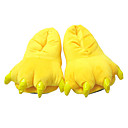 cheap Adults Costumes-Kigurumi Pajamas Slippers Pika Pika Onesie Pajamas Costume Polyester / Cotton Yellow Cosplay For Adults' Animal Sleepwear Cartoon