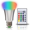 cheap LED Smart Bulbs-KWB 1set 10W 900lm E27 LED Smart Bulbs A70 1 LED Beads COB 2 in 1 RGB+Warm 85-265V