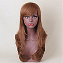 cheap Human Hair Capless Wigs-Human Hair Capless Wigs Human Hair Natural Wave Hot Sale / Side Part Long Machine Made Wig Women's