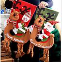 preiswerte Spiegel Wanduhren-1pc große Weihnachtsdekor-Partydekorationen Sankt-Weihnachtsstrumpfsüßigkeit socken Weihnachtsgeschenkbeutel für nach Hause gelegentliche Farbe