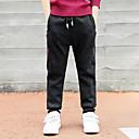 tanie Obrazy: motyw ludzi-Dzieci Dla chłopców Nadruk Bawełna Spodnie Czarny 140