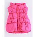 povoljno Jakne i kaputi za djevojčice-Dijete koje je tek prohodalo Djevojčice Jednobojni Bez rukávů Pamuk Prsluk Blushing Pink 100